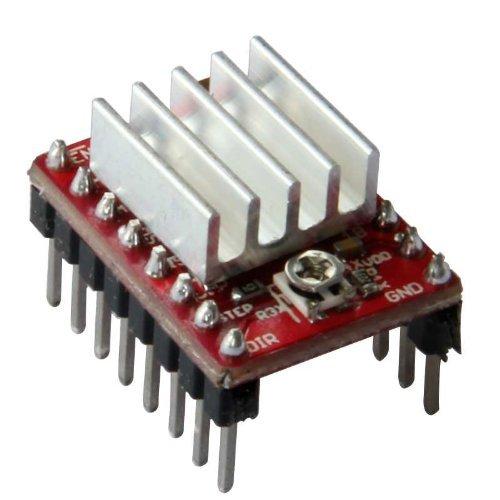 Geeetech confezione da 20pezzi A4988Stepstick stepper Motor driver modulo + dissipatore di calore per stampante 3D RepRap