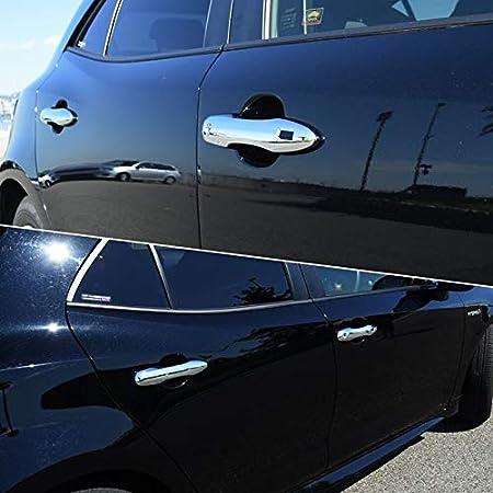 High Flying Für Corolla E210 Hybrid 5 Türer 2019 2021 Exterieur Rücklichter Dekor Abs Kunststoff Verchromt 2 Stück Nicht Für Corolla Touring Sports Auto