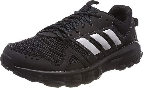 Adidas Rockadia, Zapatillas de Trail Running Hombre, Negro (Negbás/Plamat/Carbon 000), 40 2/3 EU