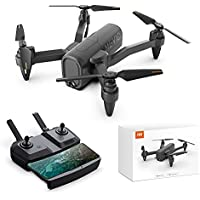 HR Foldable Drones with 1080p HD Camera Live Video,Long Flying Time,Altitude Hold,One Key Start/Land