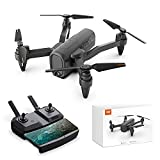 HR Drone with 1080p Camera,Foldable Drones for Kids and Adults,Quadcopter Helicopter for Beginner with Altitude Hold,Follow Me,Carrying Case,RC Toys Gifts for Boys Girls and Adults (Black)