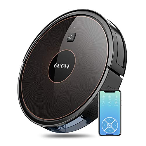GOOVI Robot Vacuum, 1600PA Robotic Vacuum Cleaner with...