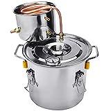 Moonshine Still Spirits Kit, 3 GAL 12 litros 2 Ollas Destilador De Alcohol De Agua, Juegos De Iniciación para La Elaboración De Vino