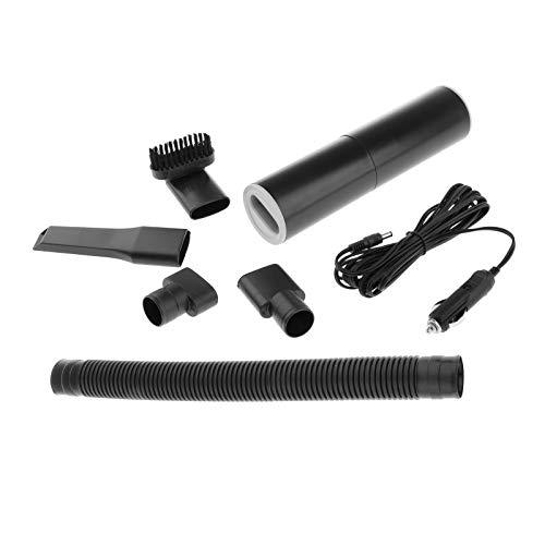 H HILABEE Aspirador de Coche 120W Dispositivo de Limpieza de Plumero de Mano Seco Húmedo Portátil Automático - Negro