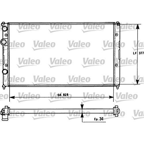 Preisvergleich Produktbild VALEO 731267 Kühler,  Motorkühlung