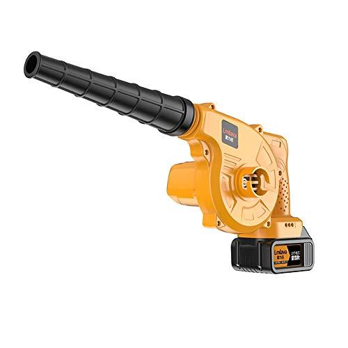 F.L.S Soplador De Hojas Soplador Aspirador De Hojas Batería de Litio soplador de Alta Potencia de soplador de Nieve, Hoja Blower498000H (Size : Two Power and One Charge)