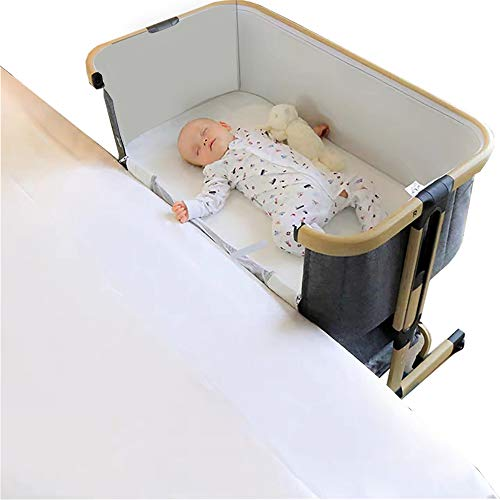 Minicuna Colecho con Cesta Star Ibaby Plus - Regulable 6 alturas. Reclinable.