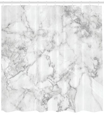 Marmor Duschvorhang Granit natürlichen Punktdruck für Badezimmer
