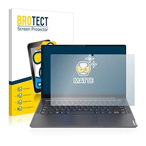 BROTECT Entspiegelungs-Schutzfolie kompatibel mit Lenovo Yoga S740 14'' Bildschirmschutz-Folie Matt, Anti-Reflex, Anti-Fingerprint