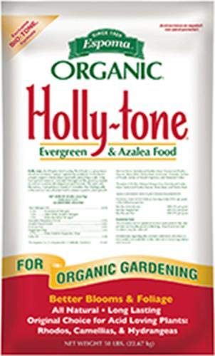 Espoma HT50 Organic 4-3-4 Holly Tone Fertilizer, 50 lb