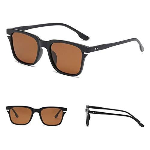 Gbcyp Fashion Heren Dames Retro montuur bril gepolariseerde bril bril bril bril bril zonnebril veelzijdige veiligheidsbril