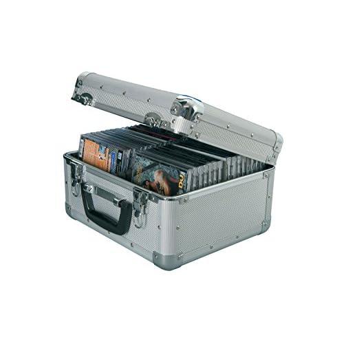 Porta CD in alluminio 40 CDs | WALLET