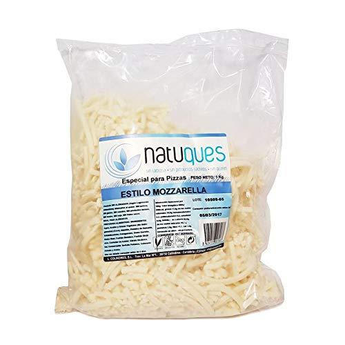 Queso Rallado Fino Mozzarella Natuques, 1 Kg