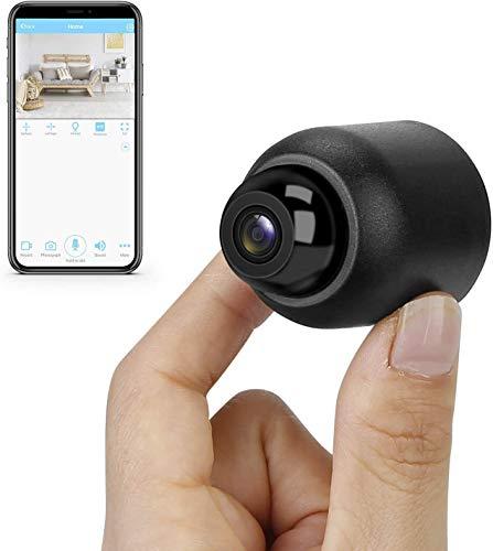 Telecamera Spia WiFi Mini Telecamera Nascosta 1080P HD Videocamera Portatile Wireless Videoregistratore con Rilevazione di movimento Videocamera di Sicurezza per Interno
