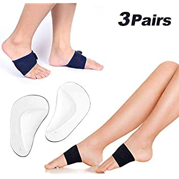 Orthopedic Insole For Flat Foot Health Sole Pad Shoes Arch Support Cushion ZH