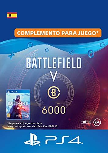 Battlefield V - 6000 monedas de Battlefield - PS4 Download Code - ES Account DLC   PS4 Download Code - ES Account