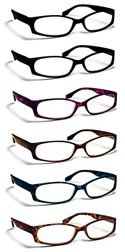 6 Pairs (+1.00), Reading Glasses by BOOST EYEWEAR (57% Off)