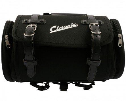 Tasche/Koffer SIP klein, für Gepäckträger, 330x190x180mm, ca. 10 Liter, Nylon, schwarz
