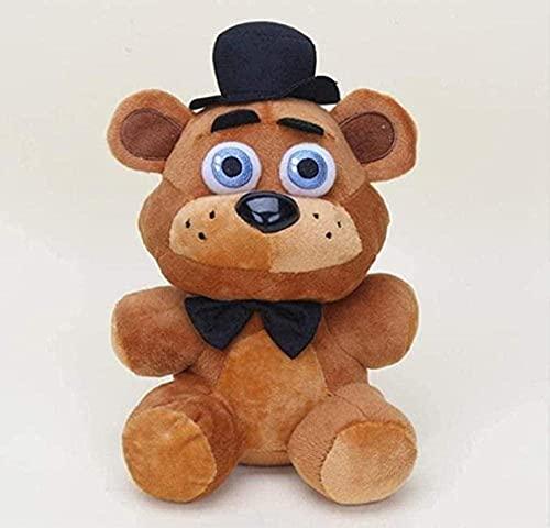 NC87 Muñeco de Peluche 4 Piezas 25cm Cinco Noches en Freddy s Bear Foxy Bonnie Regalo de Peluche para niños
