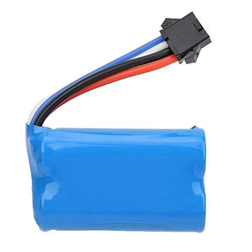 Dilwe RC Coche Batería de Litio, 6.4 V 800MAH Batería Lipo RC Actualización Reemplazo Accesorio de Repuesto para WLtoys 18628 18629 Control Remoto 4WD Escalada Coche de Juguete
