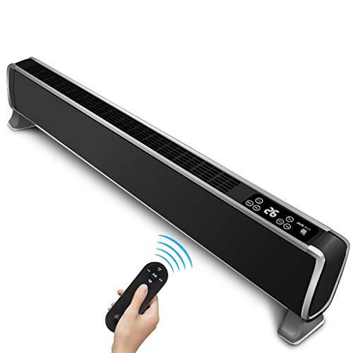 Heizgeräte Mit Eingebautem Thermostat Elektrische Fußleistenheizung Leise Konvektorheizung, 24-Stunden-Timer, Kipp- Und Überhitzungsschutz.