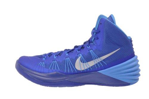 Nike Men's Hyperdunk 2013 TB, GAME ROYAL/METALLIC SILVER-BLUE HR, 11.5 M US