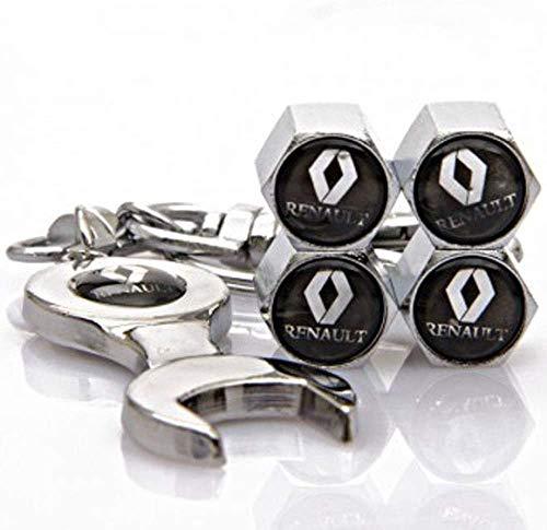 4PCS Autoreifenventildeckel, für Renault Koleos LAGUNA SCENIC Espace Autoreifenverkleidung Außenzubehör