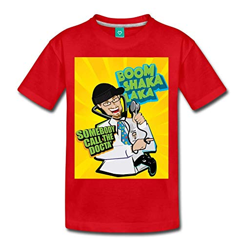 FGTeeV - Boom Shaka Laka Premium T-Shirt (Kids) red Youth M