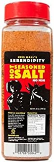 Jess Hall's Hot Serendipity Seasoned Salt 25oz Container (Pack of 2) No MSG