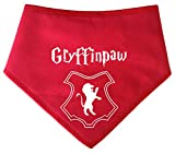 Spoilt Rotten Pets S3 Gryffinpaw House Hundehalstuch, für Gryffindor Harry Potter Fans, deren Hunde zu Hogwarts mittelgroße Hunde Dalmatiner, Labrador und Staffies gehen