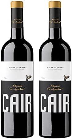 Vino Tinto Cair Seleccion la Aguilera de 75 cl - D.O. Ribera del Duero - Bodegas Cair (Pack de 2 botellas)