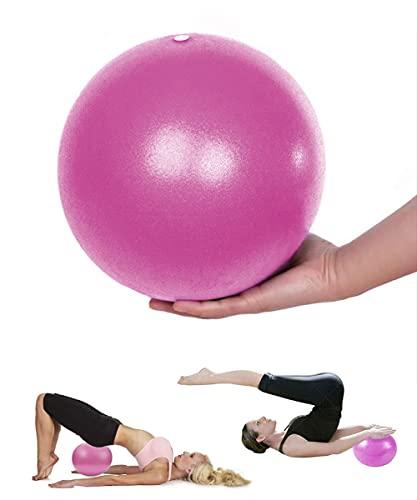 MUPACK Yoga Ball Pilates Ballon de Gymnastique Anti-éclatement Fitness Balles pour 25cm Entraînement Abdominal et des Épaules, Équilibre, Sport, Pilates