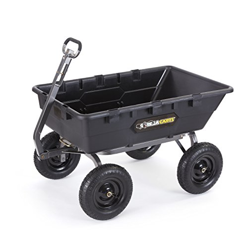 Super Heavy Duty Poly Dump Cart...