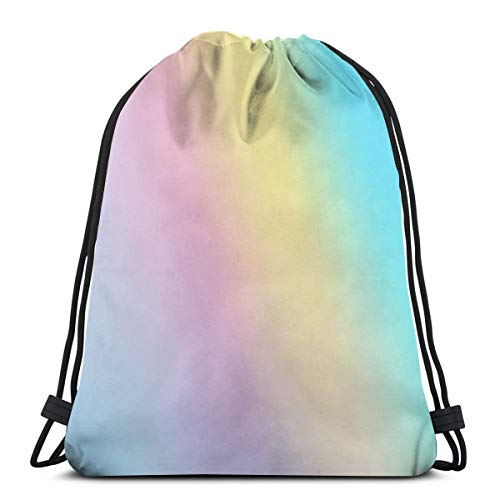 Drawstring Bag Holographic Iridescent Aesthetic Background Floor Pillow Gift Bag