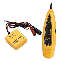 professional PTE Wire Tracer  Circuit Tester-Tone Generator and Probe Kit-Wire and Cable Detection and Tracing, …