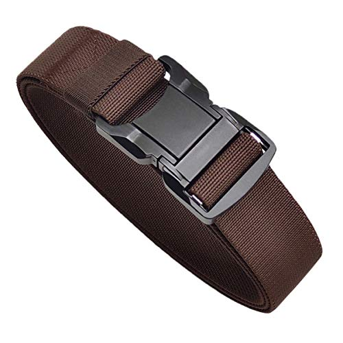 Men's Tactical Stretch Belt Military CCW Riggers Belt Quick Release Duty Buckle