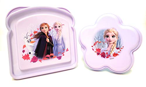 Zak! designs Disney Frozen II Sandwich & snack container bundle