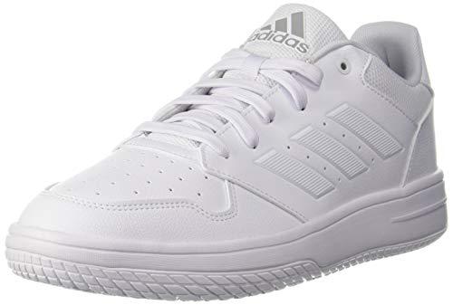 Adidas Men's GAMETALKER Basketball Shoe,White, 7 UK
