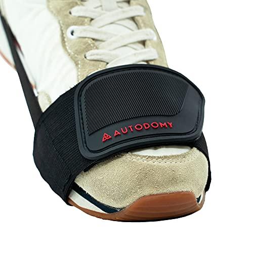Autodomy Protege Chaussure Moto - Protection Selecteur de Vitesse pour Botte ou Chaussure Moto - Protection Levier de Vitesse Moto - Equipement Moto Quad ATV