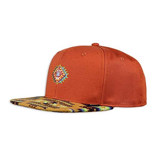 Djinns - Aztek Crown (Burned orange) - Snapback Cap Baseballcap Hat Kappe Mütze Caps