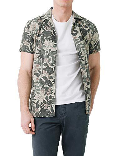 Scalpers Hawaiian SS Shirt - Camisa para Hombre