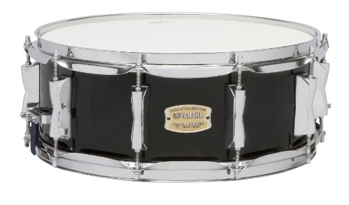 Yamaha Stage Custom Birch 14x5.5 Snare Drum, Raven Black