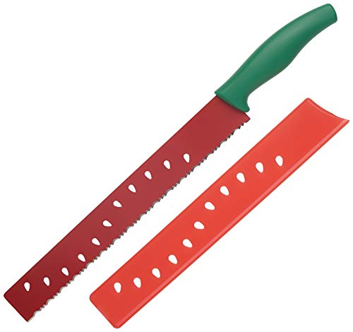 Kuhn Rikon Melon Knife, 1, Red/Green