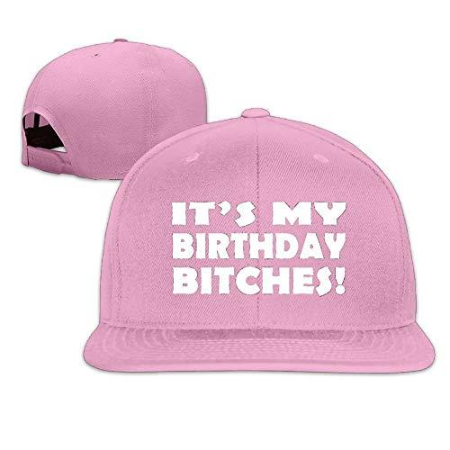 wwoman ¡Son mis Perras de cumpleaños! .PNG Hombres Mujeres Deporte Sombrero Gorra Personalizada Béisbol Malla Sombrero Diseño Hatpink Rosa