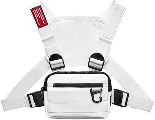 Bianlang. Chest Rig Harness Tactical cassa anteriore Confezione Radio cablaggio - Rig petto degli uomini di sacchetto tattico del sacchetto della vita tattico della cassa della maglia pacchetto Hip Ho