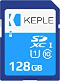 128GB SD Card Class 10 Tarjeta de Memoria Compatible con Canon EOS M50, M100, M10, M6, M5, 6D, 60D, 70D, 80D, 100D, 550D, 600D, 1100D, 1200D, 1300D, 2000D, 4000D, 9000D Camera UHS-1 U1 SDHC 128 GB