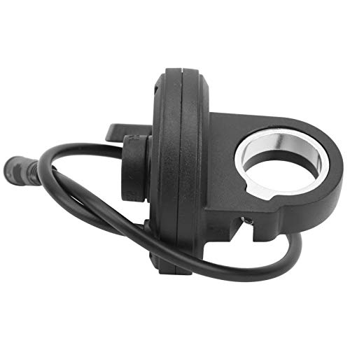 Keenso E-Bike Thumb Throttle, 108X Left Thumb Throttle Speed Control 3 Pin Waterproof Connector Lithium for Electric Scooters E?Bike