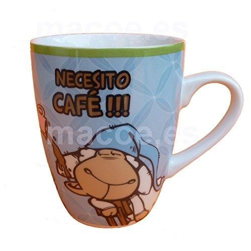 NICI 36795 Tasse NECESITO CAFÉ !!! Porzellan Kaffeebecher Spanisch