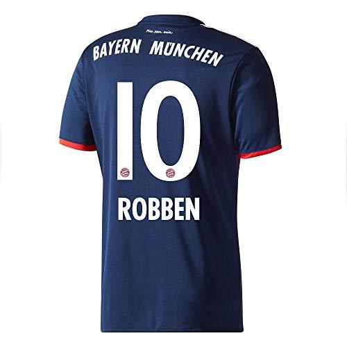 Bayern München Away Trikot 2017 2018 + Robben 10 - XXL