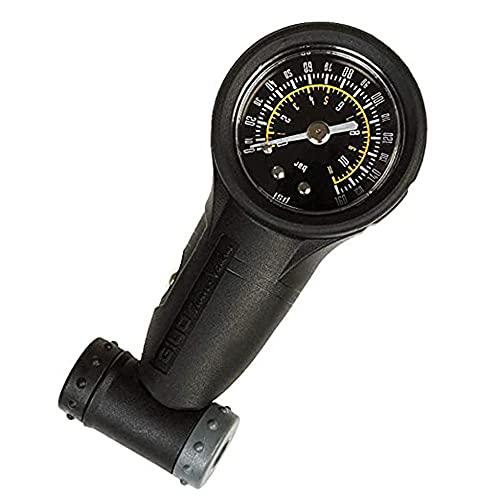 HGDM Medidor De Presión De Neumáticos De Bicicleta Opcional - Cara Simple O Doble - Válvula Presta Schrader De Alta O Baja Presión 160 PSI / 11BAR